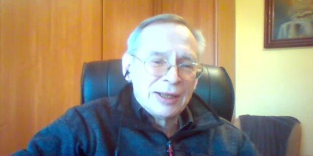 Profesor Włodzimierz Gut/ screen Youtube