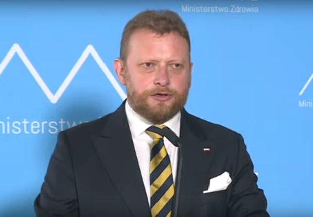 Łukasz Szumowski, fot. screen YouTube / Onet News