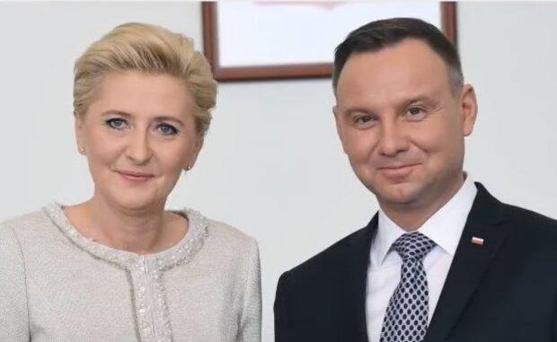 Agata i Andrzej Dudowie/ YouTube @Gossip TV