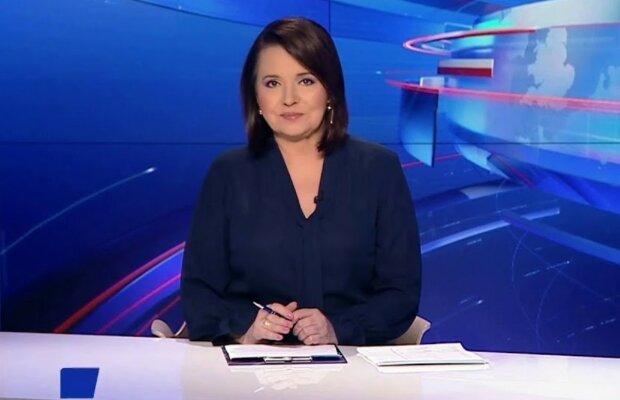 Danuta Holecka/Youtube @Piękne Polskie Dziennikarki i Prezenterki TV