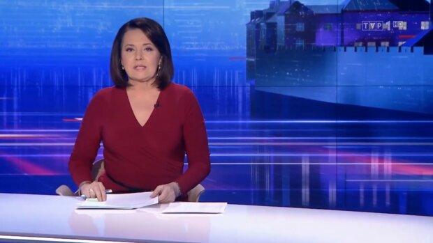 Danuta Holecka. Źródło: Youtube Piękne Polskie Dziennikarki i Prezenterki TV