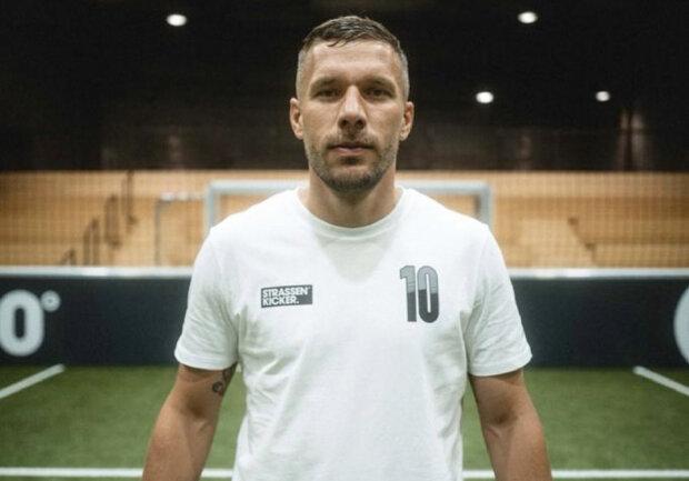 Lukas Podolski. Źródło: instagram.com