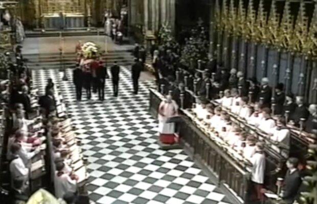 Pogrzeb księżnej Diany / screen yt
