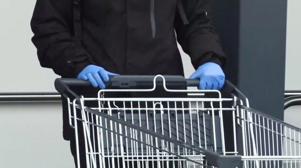 Zakupy, COVID-19. Źródło: Youtube Onet News