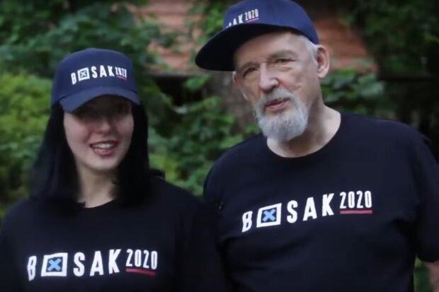 Janusz Korwin-Mikke wraz z żoną / YouTube:  Konfederacja